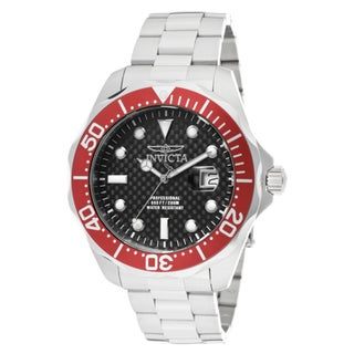 Invicta Men's 12565 'Pro Diver/Grand Diver' Stainless Steel Watch