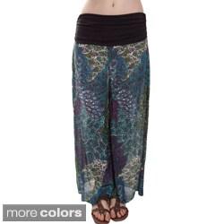 Jungle Print Cotton Pants (Nepal)