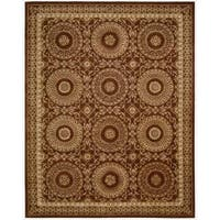 Nourison Hand-tufted Versailles Palace Brick/ Ivory Rug - 8' x 11'