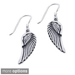 Sterling Silver Angel Wings Earrings (Thailand)