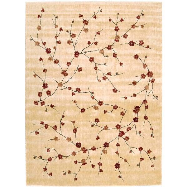Chambord Cherry Blossom Ivory Rug (3'6 x 5'6)