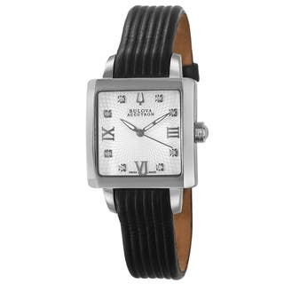 Bulova Accutron Women's 'Massella' Stainless Steel Swiss Quartz Watch|https://ak1.ostkcdn.com/images/products/7673278/7673278/Bulova-Accutron-Womens-Massella-Stainless-Steel-Swiss-Quartz-Watch-P15084469.jpg?impolicy=medium