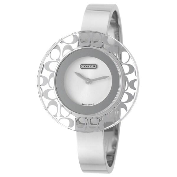 Coach Women's 'Daphne' Stainless Steel Swiss Quartz Watch