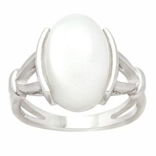 De Buman Sterling Silver Moonstone Ring