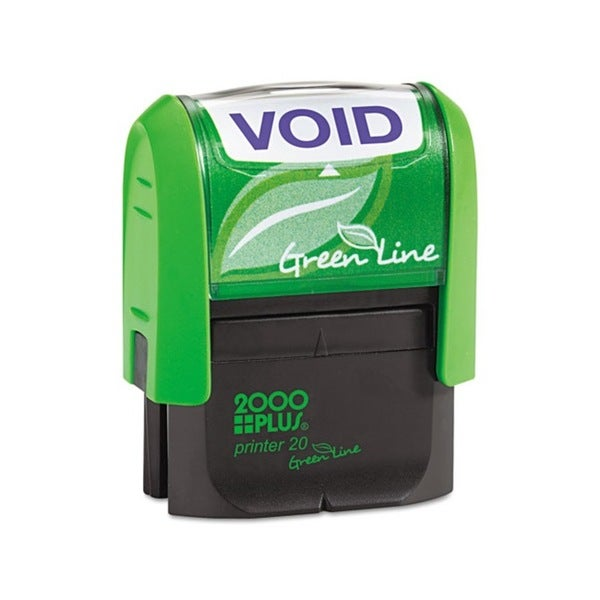 2000 PLUS Green Line 'Void' Message Stamp (Blue)
