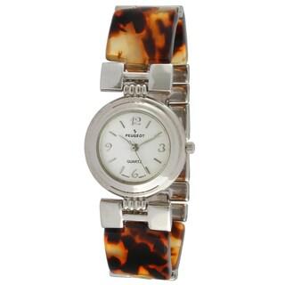Peugeot Vintage 705-7 Tortoise Bracelet Watch