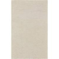 Sand/ Ivory Loomed Area Rug - 3'3 x 5'3