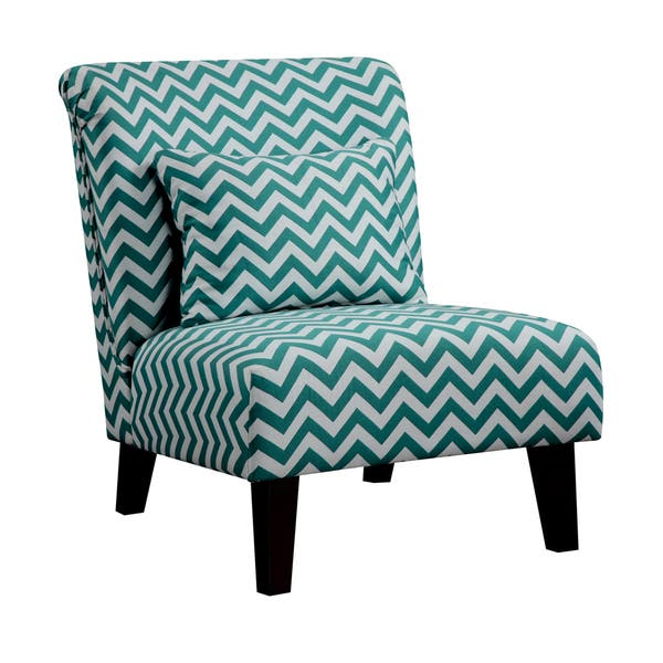 Miraculous Shop Anna Peacock Chevron Fabric Accent Chair Free Unemploymentrelief Wooden Chair Designs For Living Room Unemploymentrelieforg