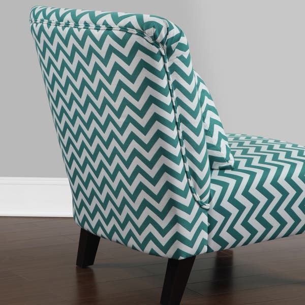 Phenomenal Shop Anna Peacock Chevron Fabric Accent Chair Free Unemploymentrelief Wooden Chair Designs For Living Room Unemploymentrelieforg
