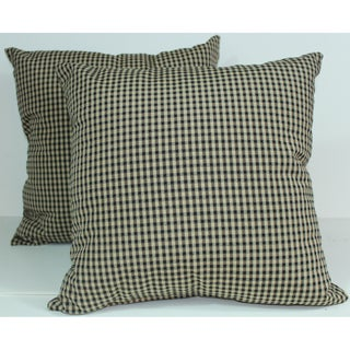 RLF Home Colburn Charcoal 16-inch Decorative Pillows (Set of 2)