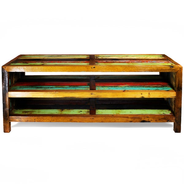 Ecologica Multi-Color Two-Shelf Media Center