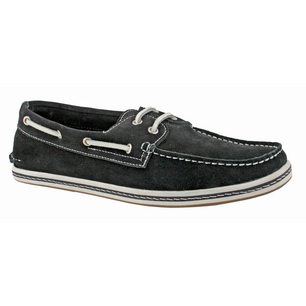 GBX Men's Suede Comfort Slip-on Shoes