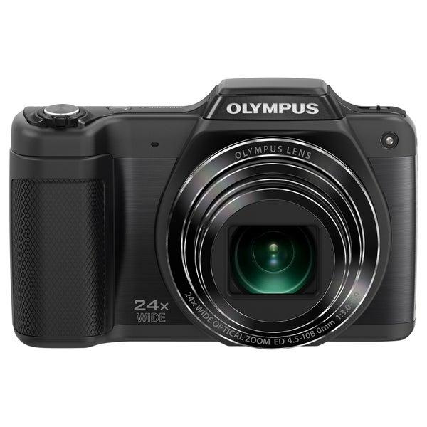 Olympus Traveller SZ-15 16 Megapixel Compact Camera - Black