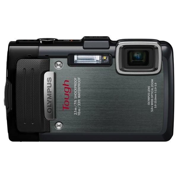 Olympus Tough TG-830 iHS 16 Megapixel Compact Camera - Black