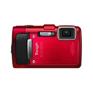 Olympus Tough TG-830 iHS 16MP Red Digital Camera