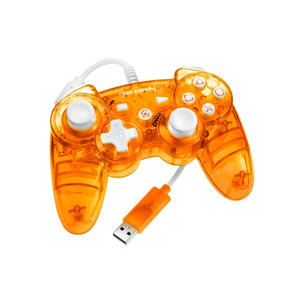 Rock Candy PS3 Wired Controller (Orange)