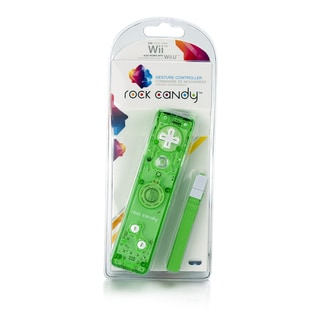 Rock Candy Wii Gesture Controller (Green)