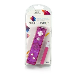 Rock Candy Wii Gesture Controller (Pink)