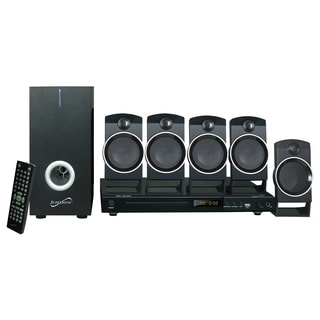 Supersonic 5.1 Channel DVD Home Theater System with USB Input & Karaoke Function