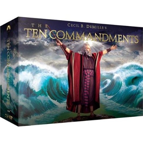 The Ten Commandments (Blu-ray/DVD)