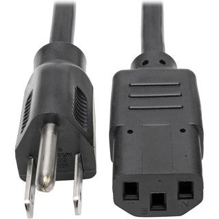 Tripp Lite 15ft Computer Power Cord Cable 5-15P to C13 10A 18AWG 15'