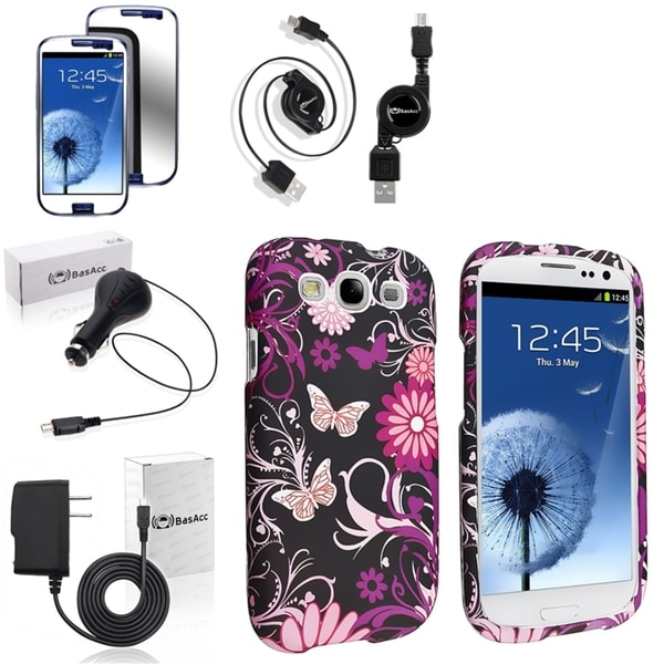 BasAcc Case/ Screen Protector/ Chargers/ Cable for Samsung© Galaxy S3