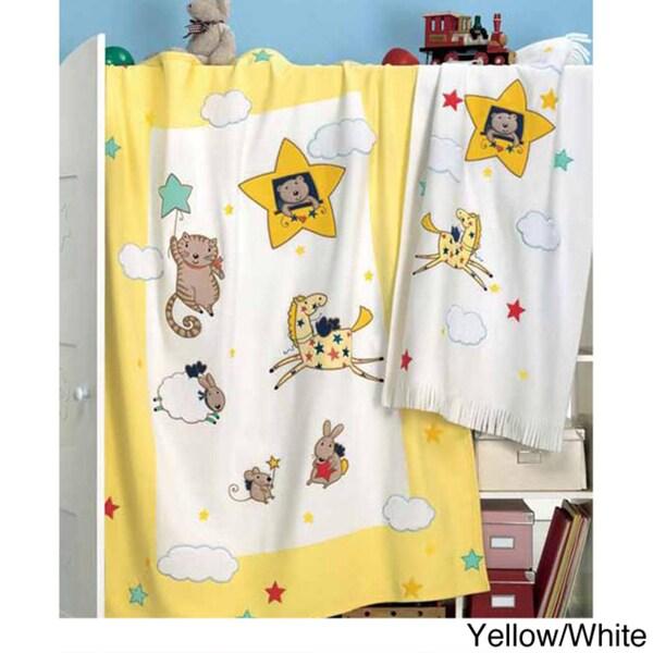 Zambaiti Carolina Fleece Baby Blanket