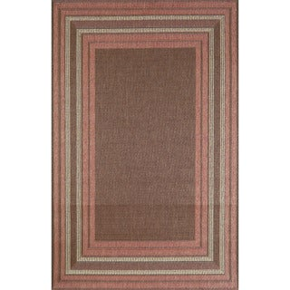 Sonoma Border Outdoor Rug (4'11 x 7'6)