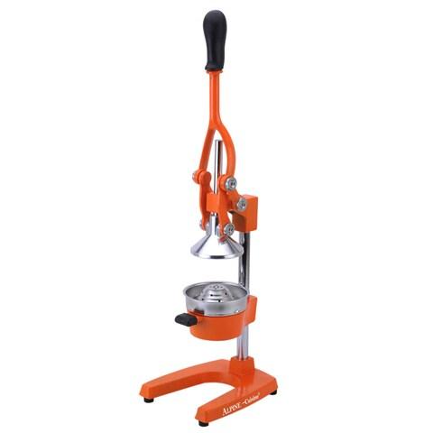 Alpine Cuisine Orange Finish Heavy-duty Extra-Large Citrus Manual Juicer
