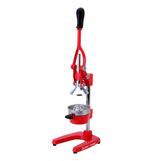 Alpine Cuisine Heavy-duty Red Extra-large Commercial style Orange Juice Press
