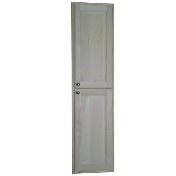 Baldwin 60-inch Natural Recessed Pantry Storage Cabinet