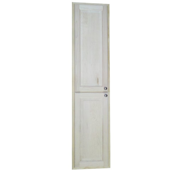 Baldwin 66 Inch Natural Recessed Pantry Storage Cabinet Free Shipping Today Overstock 15086857
