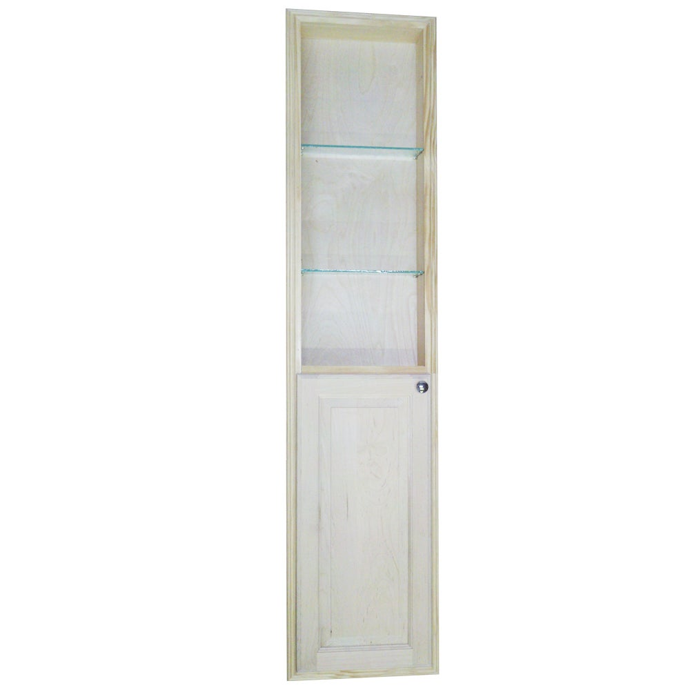 WG Wood Products Baldwin 66-inch Natural Recessed Pantry ...