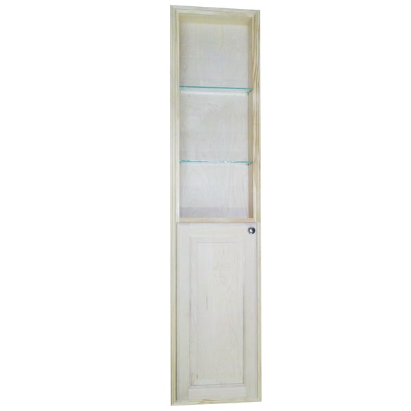 Shop Baldwin 66 Inch Natural Recessed Pantry Storage