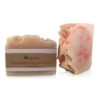 Good Morning Sunshine Handcrafted Soap Duo