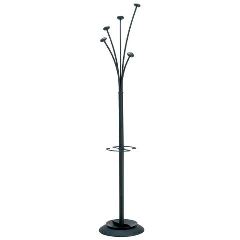 Alba Festival Modern Large-Capacity Indoor Coat Stand with Umbrella Holder