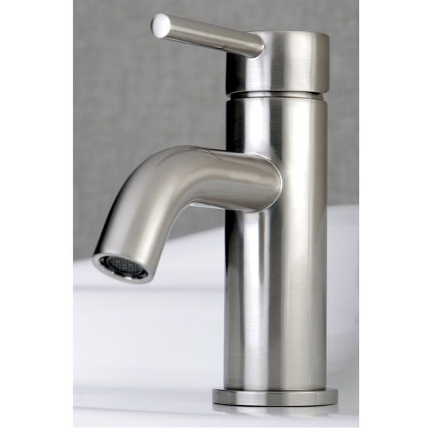 Single Handle Bathroom Faucet With Pop Up Drain