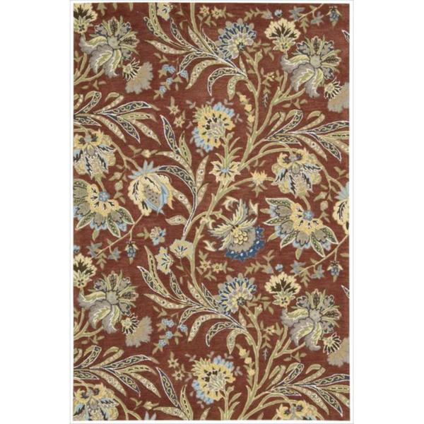 Hand-tufted Gatsby Multicolored Rug - 8' x 10'6