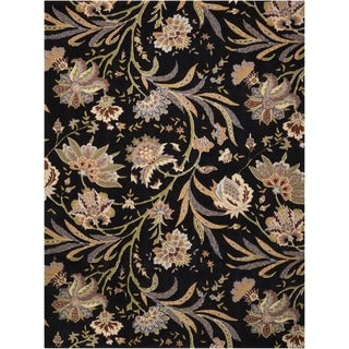 Hand-tufted Gatsby Black Rug (3'9 x 5'9)