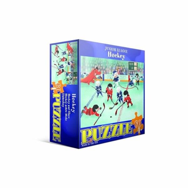 Eurographics 60-piece Hockey Jigsaw Puzzle (19x13)