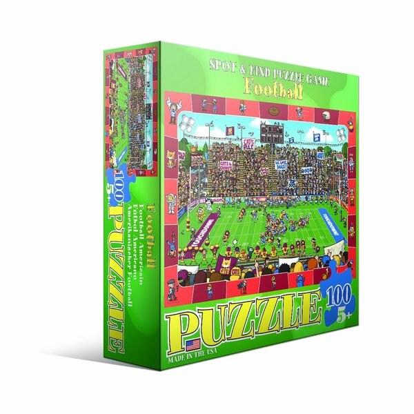 Eurographics 100-piece Football Jigsaw Puzzle (19x13)