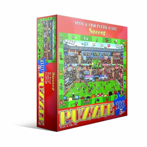Eurographics 100-piece Soccer Jigsaw Puzzle (13x19)
