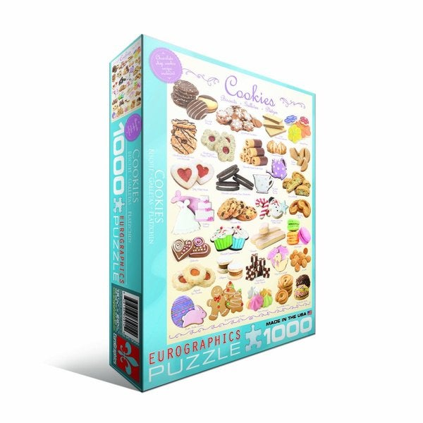 Eurographics 1000-piece Cookies Jigsaw Puzzle