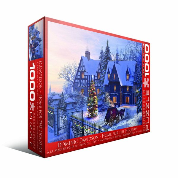 Eurographics 100-piece Home For The Holidays Jigsaw Puzzle