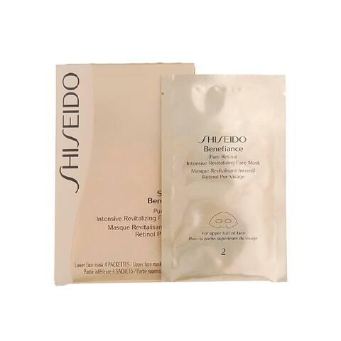 Shiseido Benefiance Pure Retinol Intensive Revitalizing Face Mask (4 Pairs)