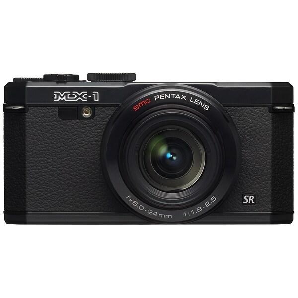 Pentax MX-1 12 Megapixel Compact Camera - Black