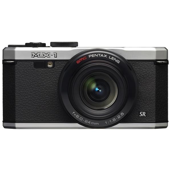 Pentax MX-1 12 Megapixel Compact Camera - Silver
