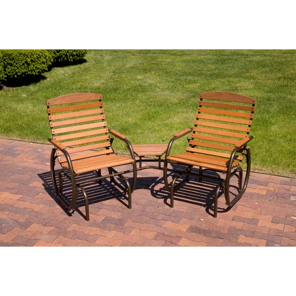 Country Garden Promo Tete A Glider Chairs Set Of 2 Free Shipping Today 7676766