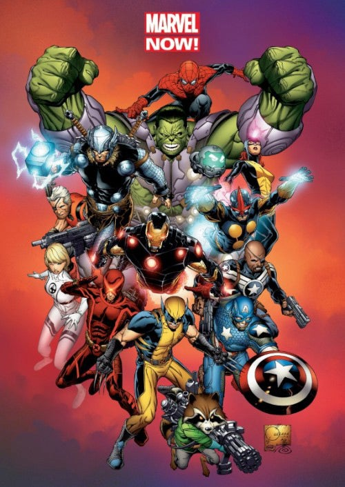 Marvel Now!: Omnibus (Hardcover) - Thumbnail 0