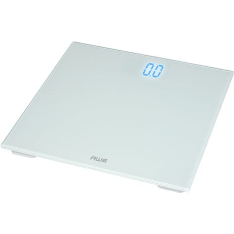 American Weigh Scales White Digital Scale